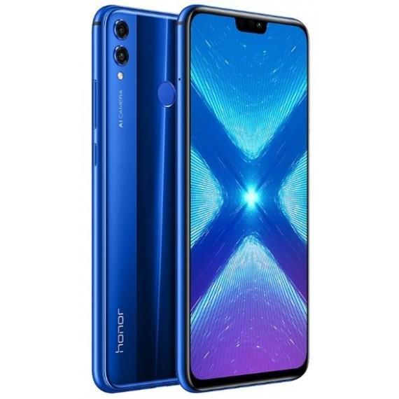 SMARTPHONE HONOR 8X 128GB BLUE DUAL SIM - GARANZIA ITALIA - PIANURA Informatica