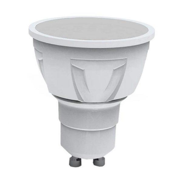 LAMPADA LED FARETTO GU10 7W 3000K LUCE CALDA 580L (GU10-107100C) - PIANURA Informatica