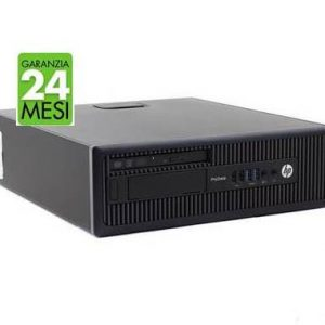 PC HP PRO 600 G1 SFF INTEL CORE I5-4570 8GB 240GB SSD WINDOWS 10 PRO - RICONDIZIONATO - GAR. 24 MESI - PIANURA Informatica