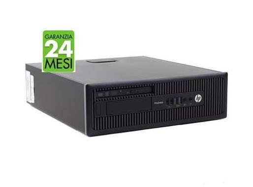 PC HP PRO 600 G1 SFF INTEL CORE I5-4570 8GB 240GB SSD WINDOWS 10 PRO - RICONDIZIONATO - GAR. 24 MESI - PIANURA Informatica