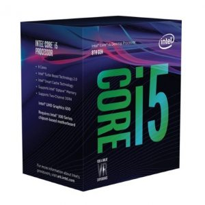 CPU CORE I5-8400 1151 BOX - PIANURA Informatica