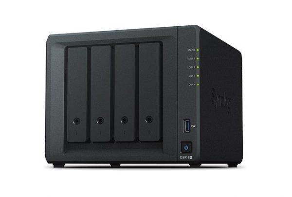 NAS DS918+ NERO 4 VANI - PIANURA Informatica