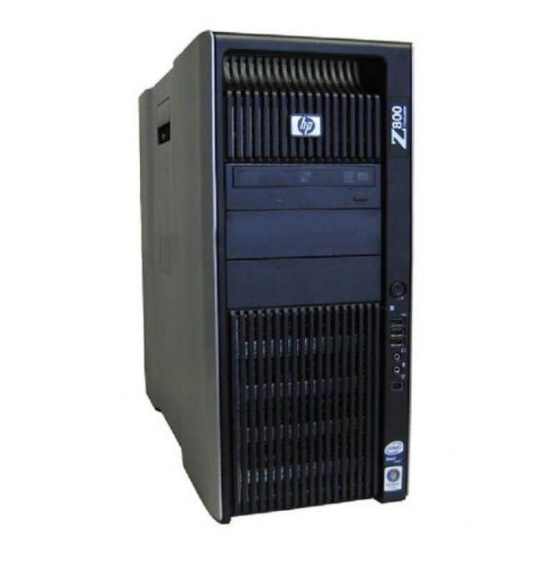PC WORKSTATION HP Z800 2X INTEL XEON X5650 32GB 480GB SSD + 500GB HDD QUADRO K2000 WINDOWS 10 PRO - RICONDIZIONATO - GAR. 36 MESI - PIANURA Informatica