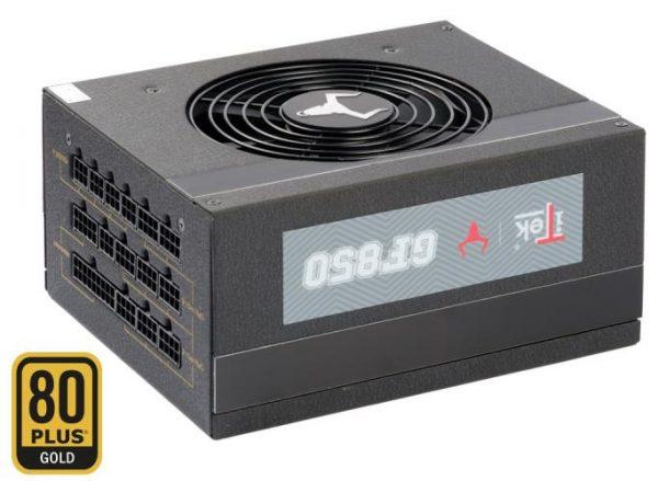ALIMENTATORE TAURUS GF850 850 WATT (ITPSTGF850) 80 PLUS GOLD MODULARE - PIANURA Informatica