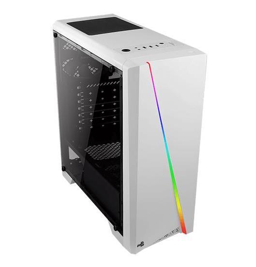 CASE CYLON RGB (AEROPGSCYLON-WH) BIANCO - PIANURA Informatica