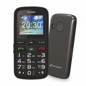 CELLULARE BIG BUTTON SENIOR (TM-C08BK) DUAL SIM - PIANURA Informatica