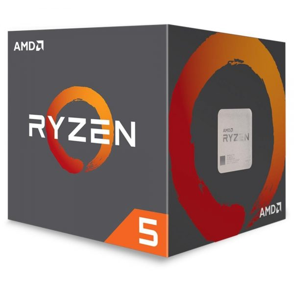 CPU RYZEN 5 2600 AM4 BOX - PIANURA Informatica