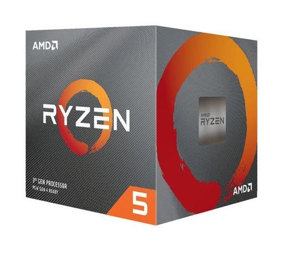 CPU RYZEN 5 3600X AM4 BOX - PIANURA Informatica