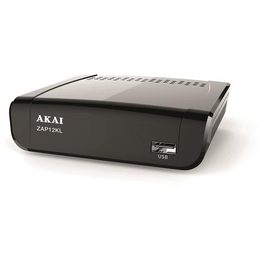 DECODER DIGITALE TERRESTRE ZAP12KL DVB-T/T2 + LAN - PIANURA Informatica