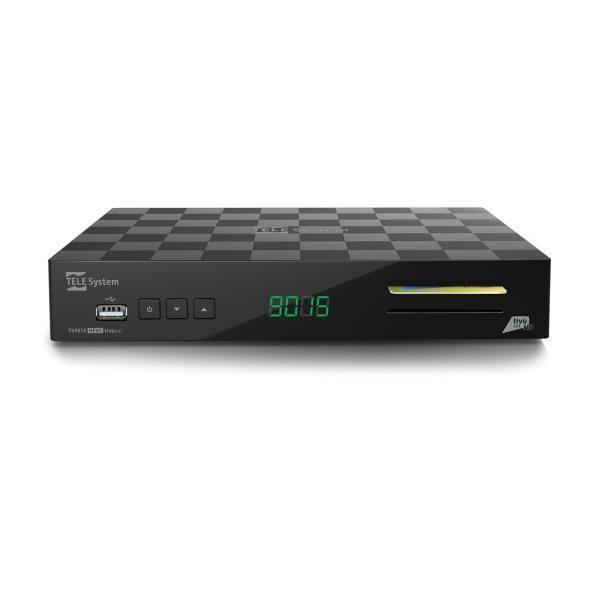 DECODER SATELLITARE TIVUSAT TS9015 DVB-S/S2 - PIANURA Informatica