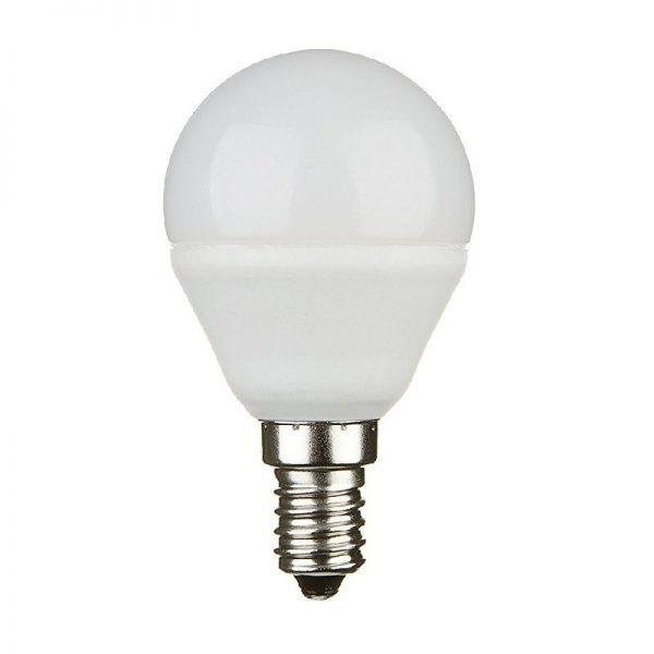 LAMPADA LED MINI GLOBO G45 5.5W 6500K LUCE FREDDA (FLG45B6W65K14) - PIANURA Informatica