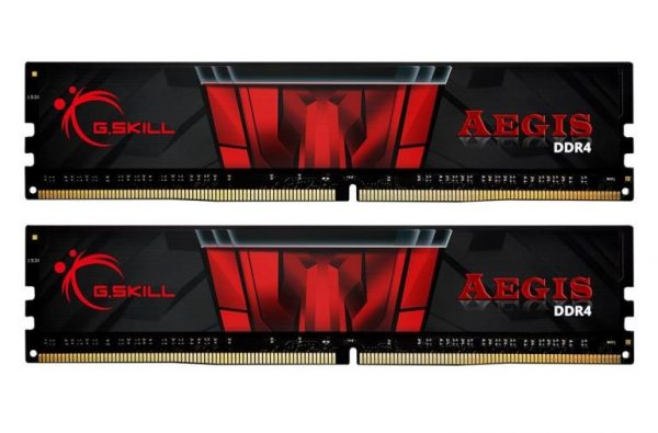MEMORIA DDR4 32 GB AEGIS PC3000 MHZ (2X16) (F4-3000C16D-32GISB) - PIANURA Informatica