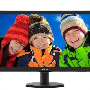 "MONITOR 24"" 243V5QHABA LED FULL HD MULTIMEDIALE - PIANURA Informatica"