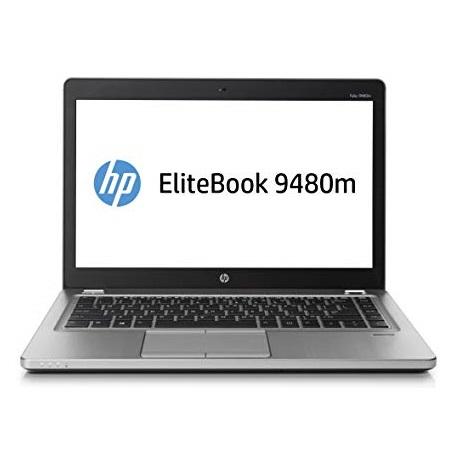 "NOTEBOOK ELITEBOOK FOLIO 9480M INTEL CORE I5-4310U 8GB 180GB SSD 14"" WINDOWS 8 PRO - RICONDIZIONATO - GARANZIA 12 MESI - PIANURA Informatica"