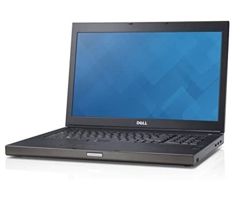 """NOTEBOOK PRECISION M4800 INTEL CORE I7-4810MQ 15.6"""" 16GB 256GB SSD WINDOWS 7 PRO - RICONDIZIONATO - GAR. 12 MESI - PIANURA Informatica"""