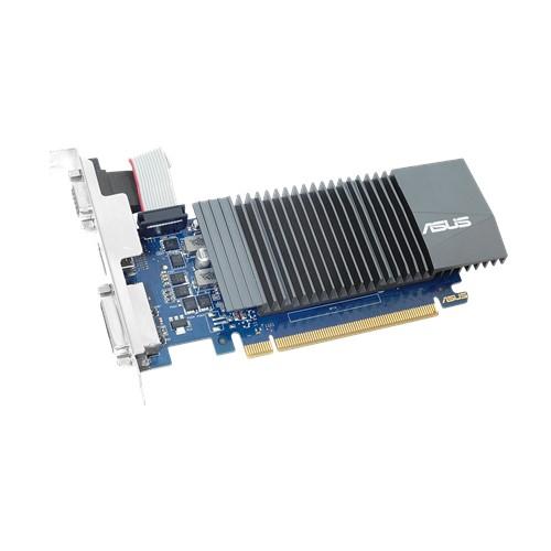 SCHEDA VIDEO GEFORCE GT710 2 GB PCI-E (GT710-SL-2GD5) 90YV0AL3-M0NA00 - PIANURA Informatica