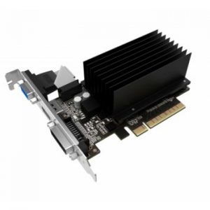 SCHEDA VIDEO GEFORCE GT710 SILENT FX 2 GB PCI-E (3576) - PIANURA Informatica