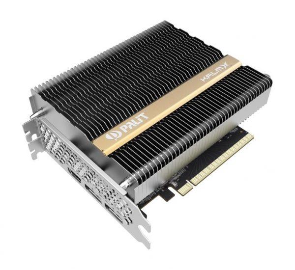 SCHEDA VIDEO KALMX GEFORCE GTX1650 4GB (NE5165001BG1-1170H) - PIANURA Informatica