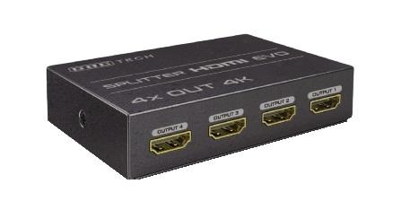 SPLITTER HDMI 4 USCITE - FULL 3D (14.2810.18) - PIANURA Informatica