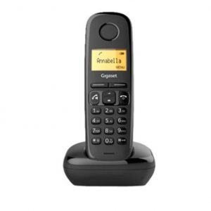 TELEFONO CORDLESS GIGASET A270 NERO (S30852H2812K101) - PIANURA Informatica