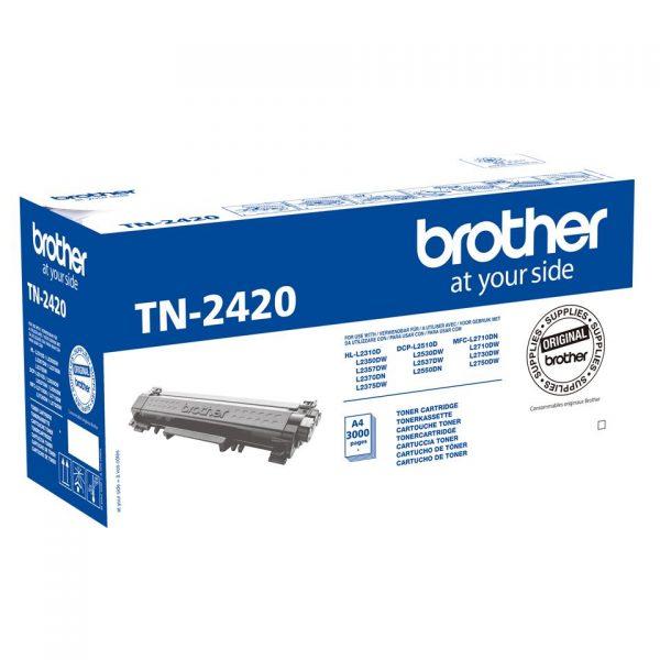TONER ORIGINALE BROTHER TN-2420 NERO (TN2420) - PIANURA Informatica