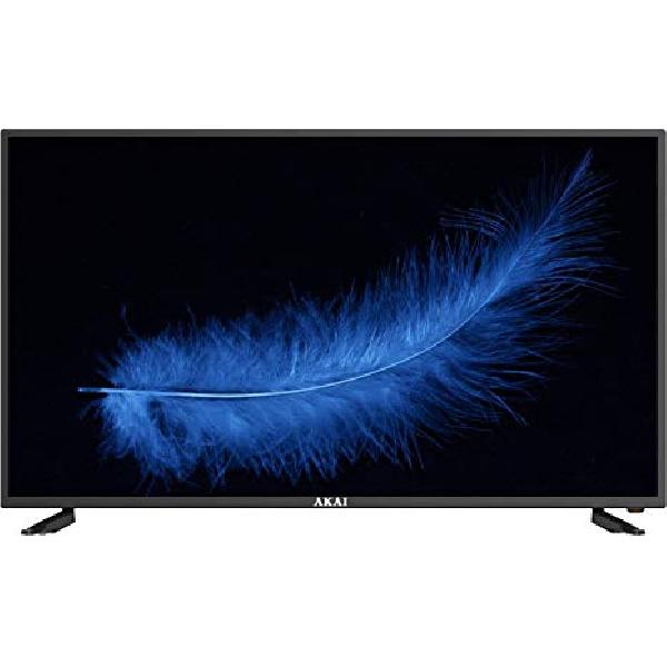 "TV LED 45"" AKTV4622 FULL HD SMART TV WIFI DVB-T2 - PIANURA Informatica"