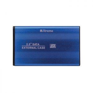"""BOX ESTERNO PER HD 2.5"""" SATA USB 2.0 (29003) BLU - PIANURA Informatica"""