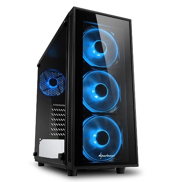 CASE TG4 RGB ATX VETRO TEMPERATO - PIANURA Informatica