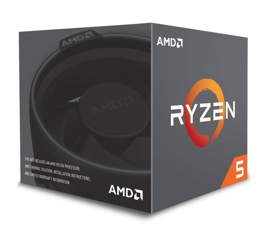CPU RYZEN 5 2600X AM4 BOX - PIANURA Informatica