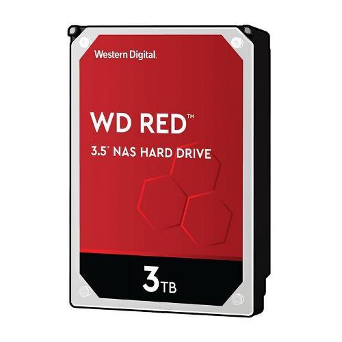 HARD DISK RED 3 TB SATA NASWARE (WD30EFAX) - PIANURA Informatica