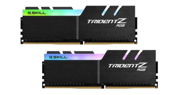 MEMORIA DDR4 16 GB TRIDENT Z RGB PC3600 MHZ (2X8) (F4-3600C18D-16GTZRX) - PIANURA Informatica