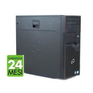 PC FUJITSU P710 MT INTEL CORE I5-3470 4GB 480GB SSD WINDOWS 10 PRO - RICONDIZIONATO - GAR. 24 MESI - PIANURA Informatica