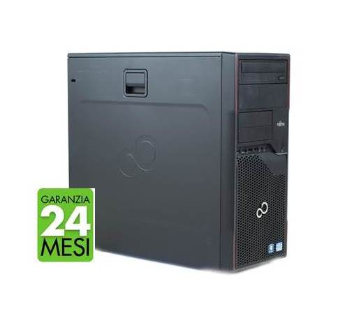 PC FUJITSU P710 MT INTEL CORE I5-3470 8GB 480GB SSD WINDOWS 10 PRO - RICONDIZIONATO - GAR. 24 MESI - PIANURA Informatica