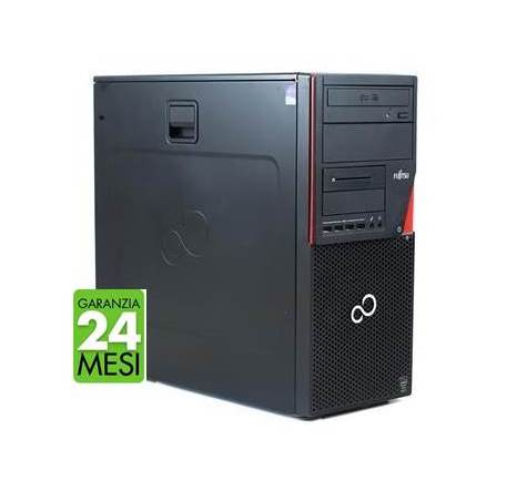 PC FUJITSU P720 MT INTEL CORE I5-4570 8GB 240GB SSD WINDOWS 10 PRO - RICONDIZIONATO - GAR. 24 MESI - PIANURA Informatica