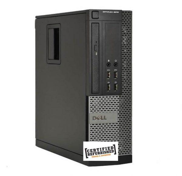 PC OPTIPLEX 790 SFF INTEL CORE I5-2400 8GB 500GB WINDOWS 7 PRO - RICONDIZIONATO - GAR. 12 MESI - PIANURA Informatica