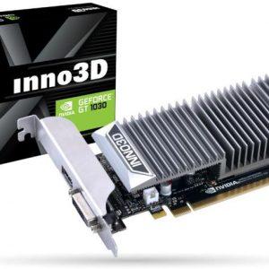 SCHEDA VIDEO GEFORCE GT1030 0DB (N1030-1SDV-E5BL) 2 GB PCI-E - PIANURA Informatica