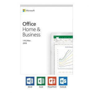 SOFTWARE OFFICE HOME AND BUSINESS 2019 (T5D-03315) BOX PACK - PIANURA Informatica