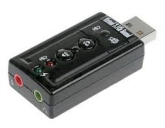 ADATTATORE USB-AUDIO CON CONTROLLO VOLUME (LK70777) - PIANURA Informatica
