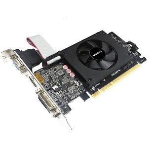 SCHEDA VIDEO GEFORCE GT710 2 GB PCI-E LP (GV-N710D5-2GI) - PIANURA Informatica