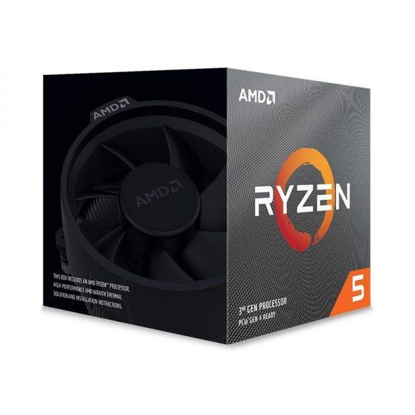 CPU RYZEN 5 3600XT AM4 BOX - PIANURA Informatica