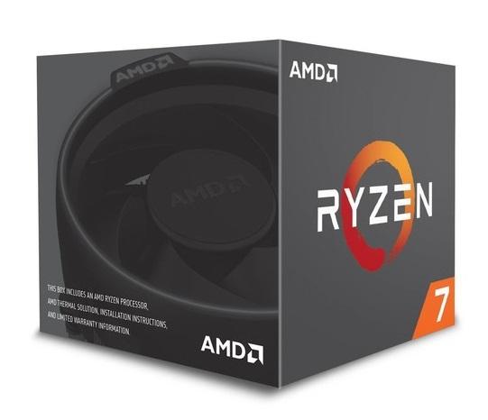 CPU RYZEN 7 2700x AM4 3.7 GHZ - PIANURA Informatica