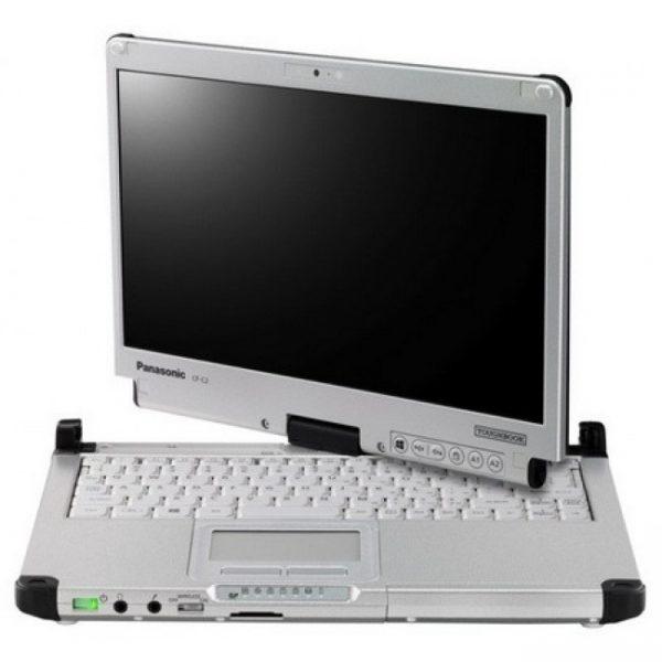 "NOTEBOOK TOUGHBOOK CF-C2 INTEL CORE I5-3427U 12.5"" TOUCHSCREEN 4GB 500GB WINDOWS 7 PRO - RICONDIZIONATO - GAR. 12 MESI - PIANURA Informatica"