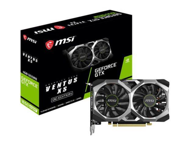 SCHEDA VIDEO GEFORCE GTX1650 SUPER VENTUS XS OC 4 GB PCI-E (V809-3294R) - PIANURA Informatica