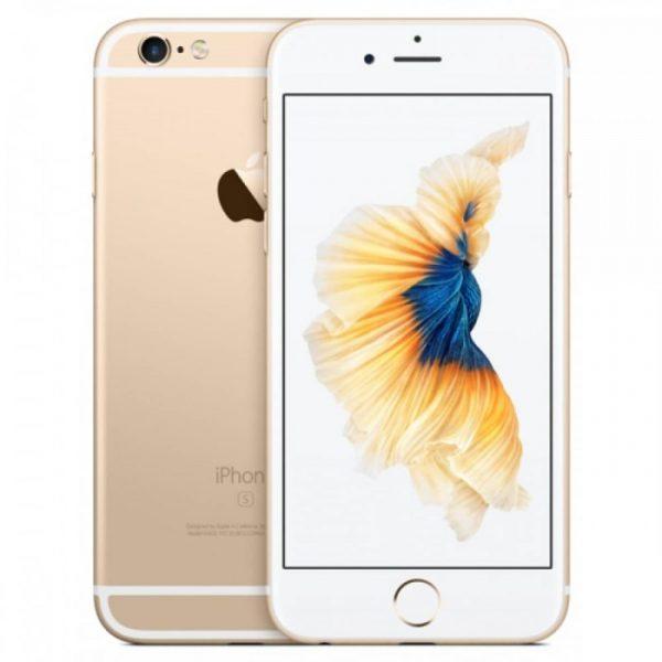 SMARTPHONE IPHONE 6S 16GB GOLD (MKQL2) - RICONDIZIONATO - GAR. 12 MESI - GRADO A - PIANURA Informatica