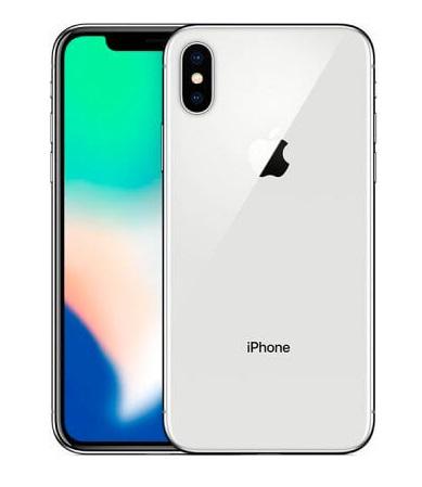 SMARTPHONE IPHONE X 256GB SILVER (MQAG2) - RICONDIZIONATO - GAR. 12 MESI - GRADO A - PIANURA Informatica