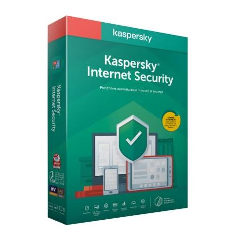 SOFTWARE INTERNET SECURITY 2020 1 CLNT RINNOVO (KL1939T5AFR-20SLIM) - PIANURA Informatica