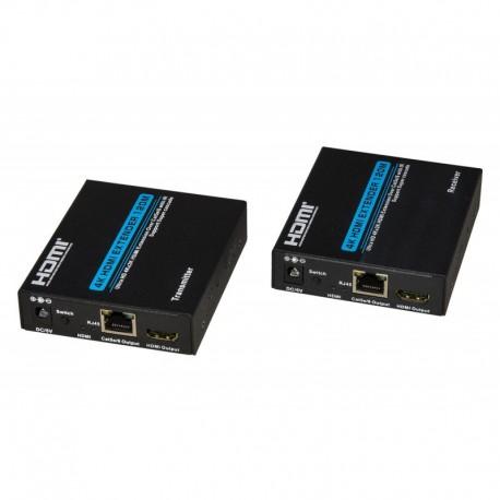 ESTENSORE HDMI - UHD 4K TRAMITE CAVO ETHERNET CAT 5E/6 - 120MT (LKEXT26) - PIANURA Informatica