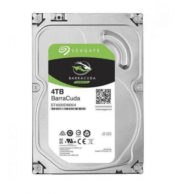 """HARD DISK BARRACUDA 4 TB SATA 3 3.5"""" (ST4000DM004) RICONDIZIONATO - PIANURA Informatica"""