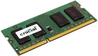 MEMORIA SO-DDR3 8 GB PC1600 MHZ (1X8) (CT102464BF160B) - PIANURA Informatica