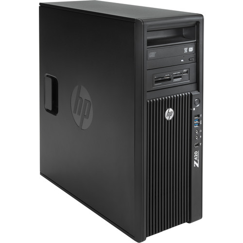 PC WORKSTATION Z420 QC INTEL XEON E5-1620V2 16GB 500GB QUADRO K600 - RICONDIZIONATO - GAR. 12 MESI - PIANURA Informatica